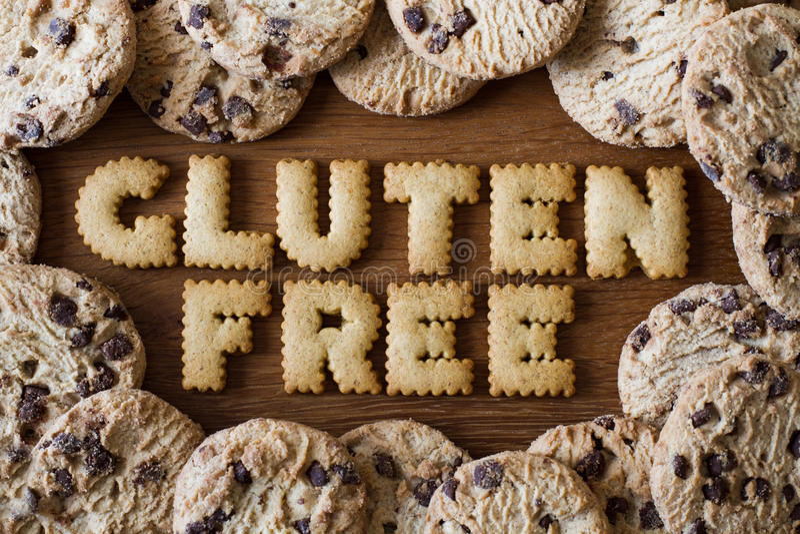 El gluten libera la comida imagenes de archivo