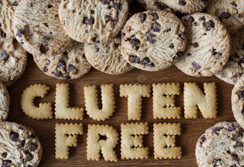 El gluten libera la comida imagen de archivo