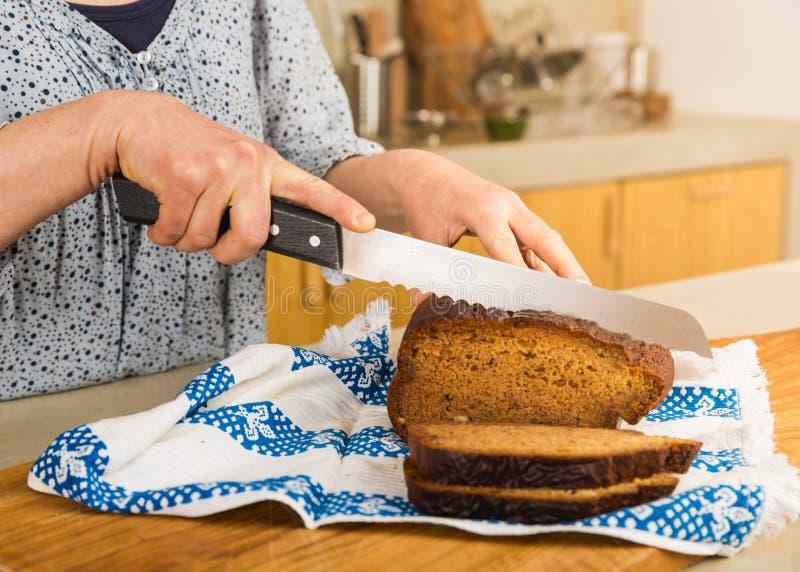 El gluten libera el pan fotos de archivo