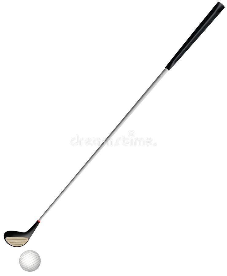 El Golfing stock de ilustración