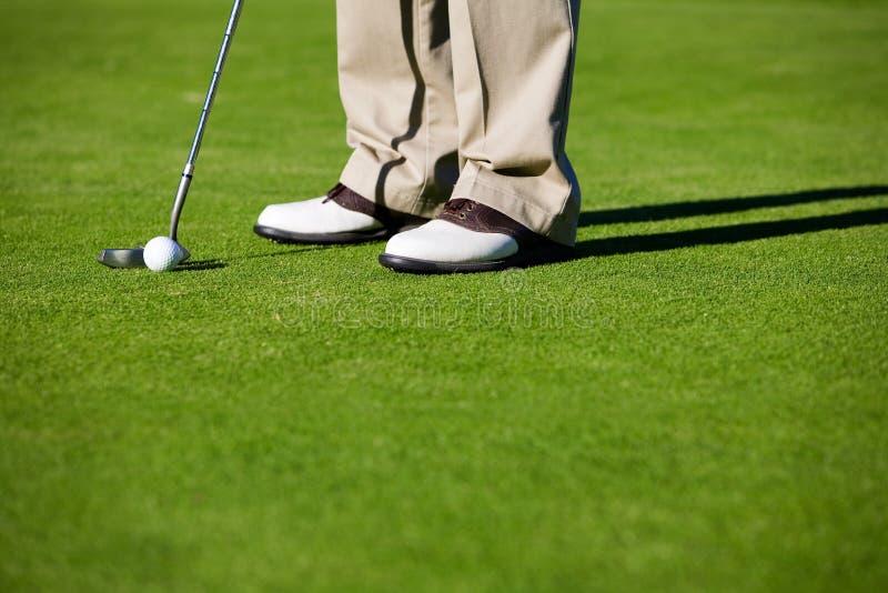 El Golfing imagenes de archivo