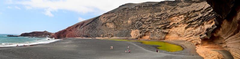 Download El Golfo Crater, Lanzarote. Stock Image - Image: 9783669