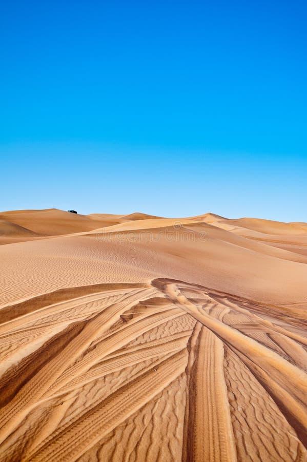 El golpear de la duna imagenes de archivo