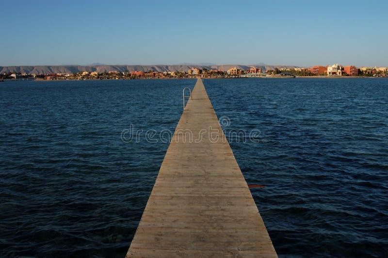 EL Gouna, Ägypten stockfoto