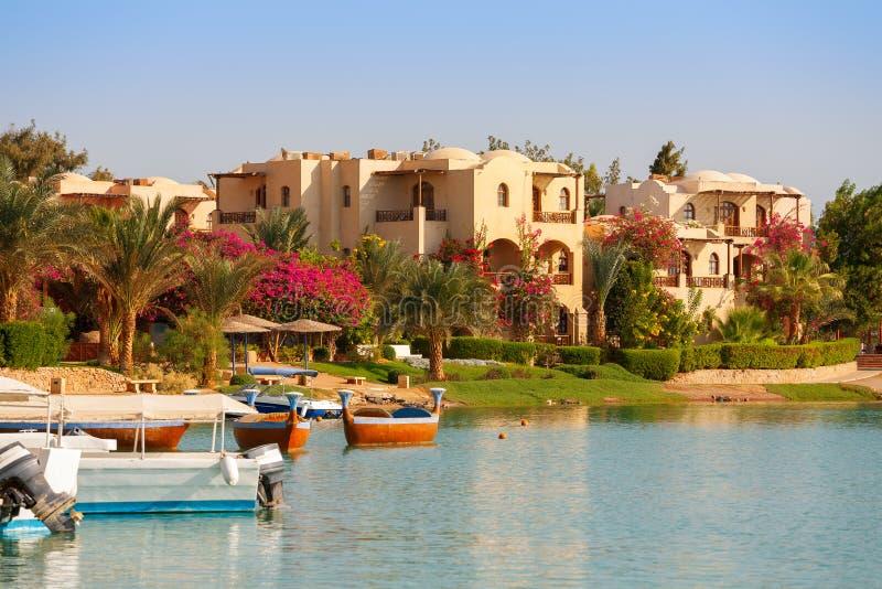EL Gouna. L'Egitto fotografia stock libera da diritti