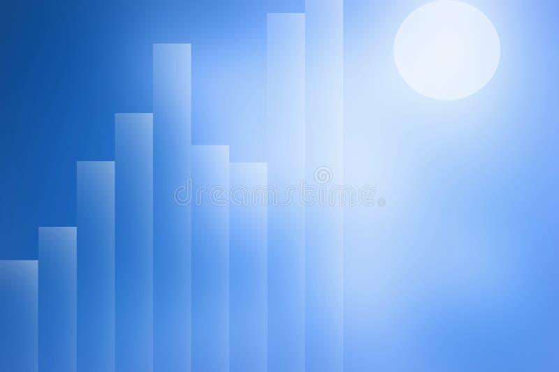 El gráfico abstracto stock de ilustración