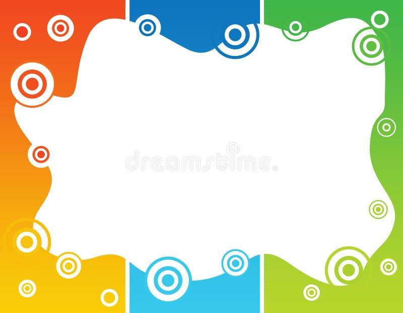 El gradiente abstracto elimina la frontera libre illustration