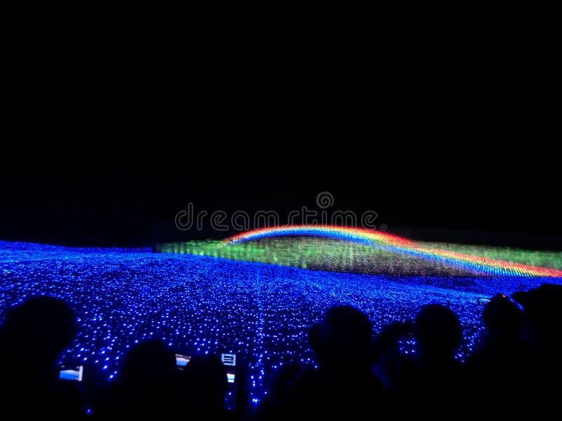 El gran arco iris imagen de archivo libre de regalías