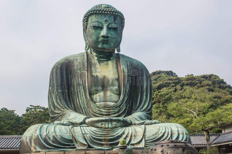 El gran Buda del templo de Kotokuin en Kamakura, Japón fotos de archivo libres de regalías