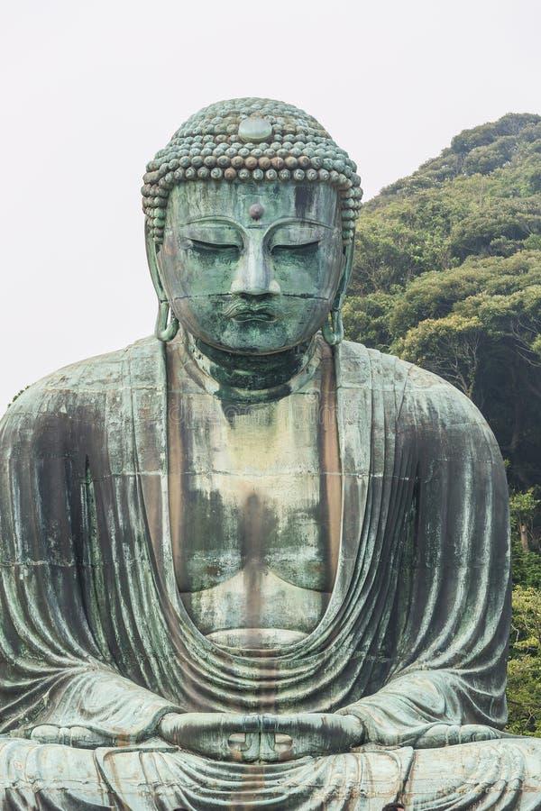 El gran Buda del templo de Kotokuin en Kamakura, Japón imágenes de archivo libres de regalías