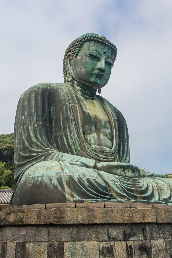 El gran Buda del templo de Kotokuin en Kamakura, Japón fotografía de archivo