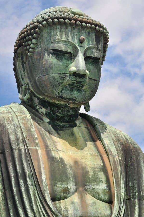 El gran Buda en el templo de Kotokuin en Kamakura, Jap foto de archivo
