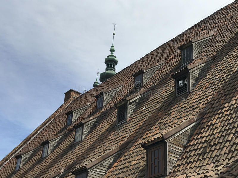 El gran molino en Gdansk fotografía de archivo libre de regalías