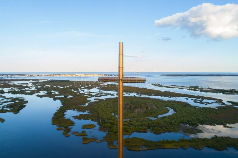 El gran St Augustine cruzado FL fotografía de archivo libre de regalías