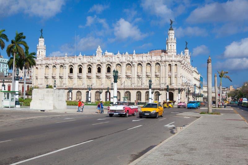 El gran teatro de La Habana, en La Habana, Cuba imagen de archivo libre de regalías