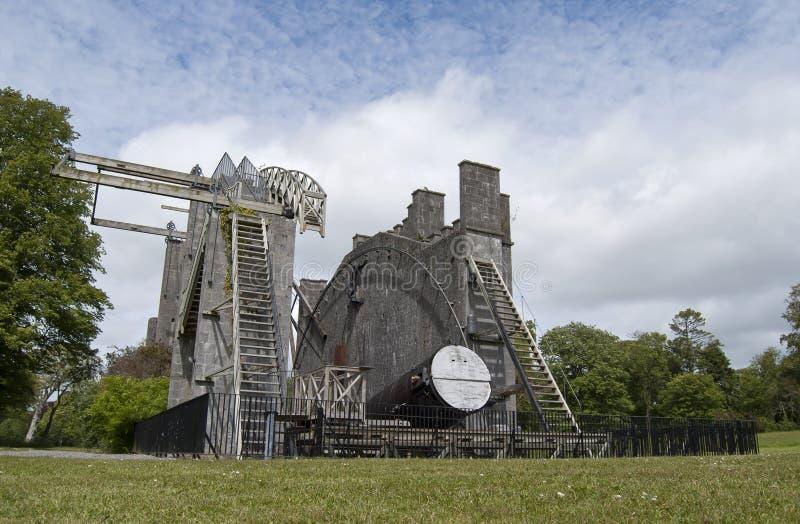 El gran telescopio foto de archivo