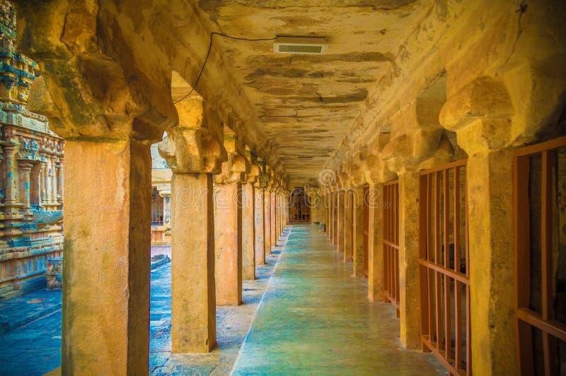 El gran templo de Brihadeeswara de Tanjore fotos de archivo