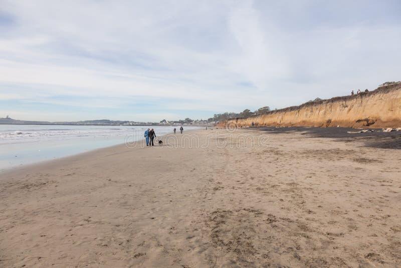 El Granada Beach stock image