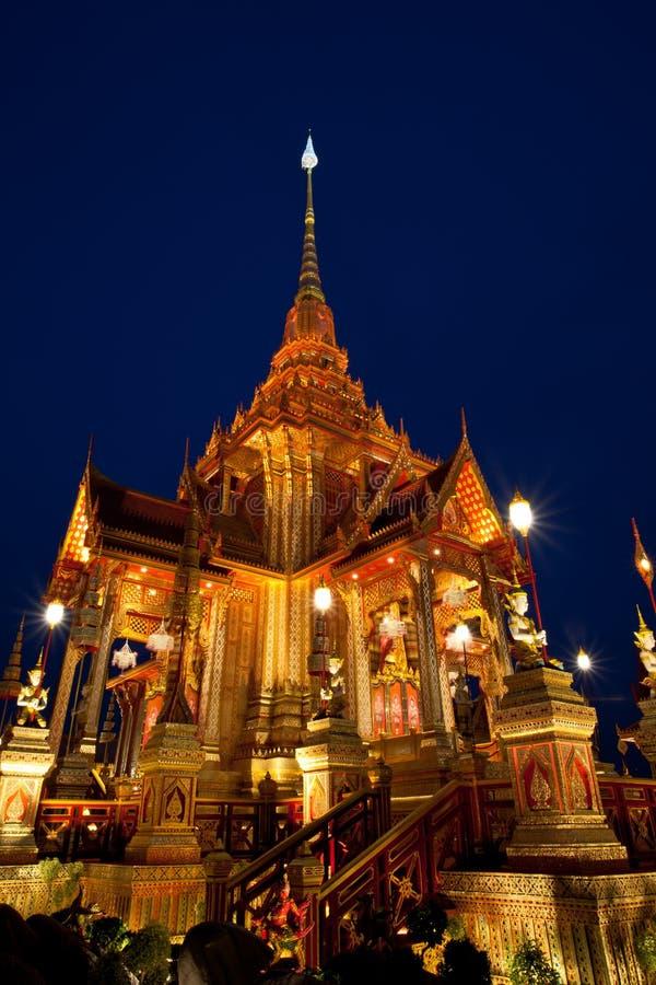 El grande de la configuración tailandesa, el arte más fino de tailandés imagen de archivo libre de regalías