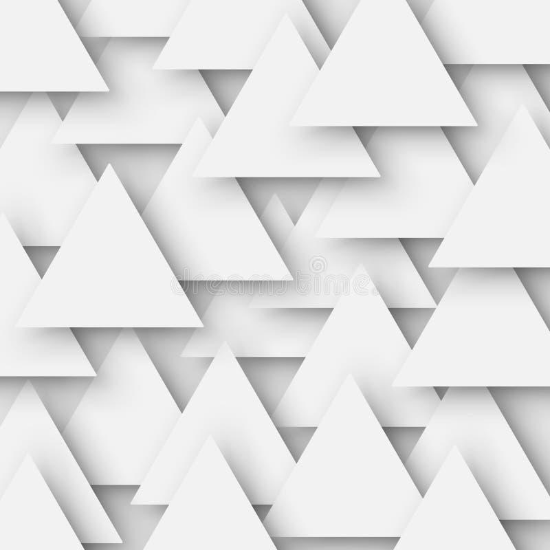 El gris coloreó la textura geométrica poligonal abstracta, fondo del triángulo 3d Fondo triangular del mosaico para el web libre illustration