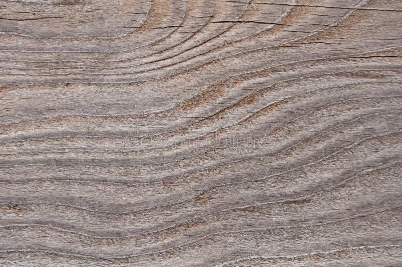 El gris resistió a la textura de madera con un modelo ondulado foto de archivo libre de regalías