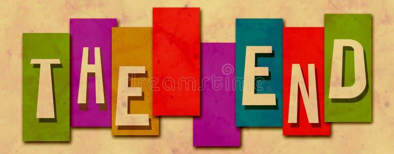El Grunge colorido de las rayas del extremo ilustración del vector