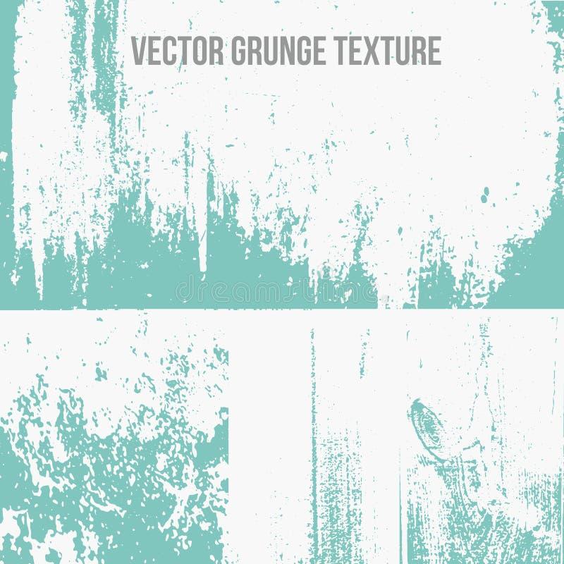 El Grunge del vector texturiza fondos Fondo perfecto de la textura del grunge para el diseño del vintage Textura moderna del grun libre illustration