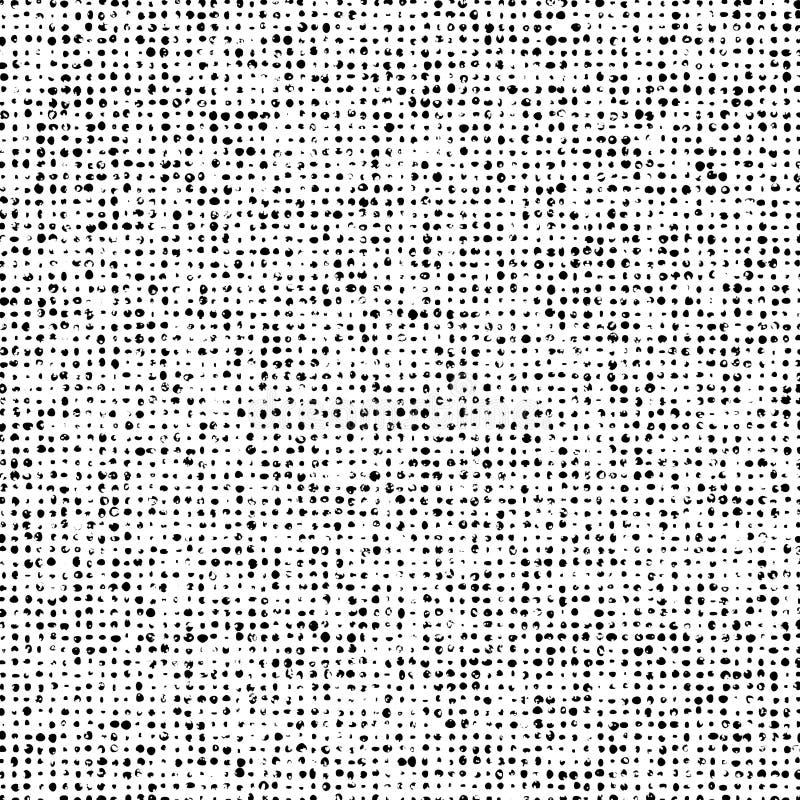 El Grunge Doted textura de la capa stock de ilustración