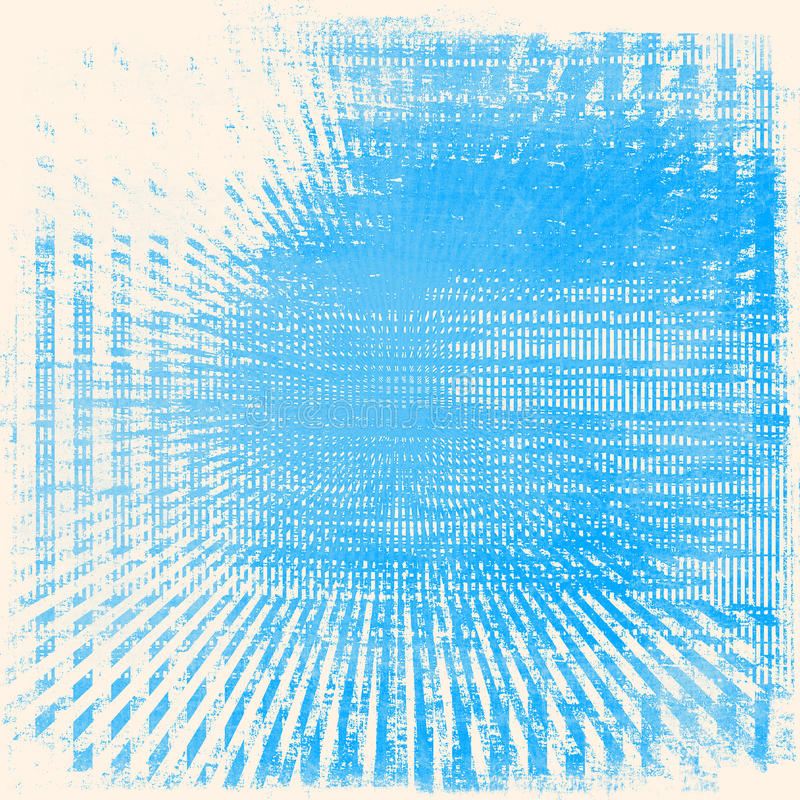 El Grunge irradia el fondo ilustración del vector