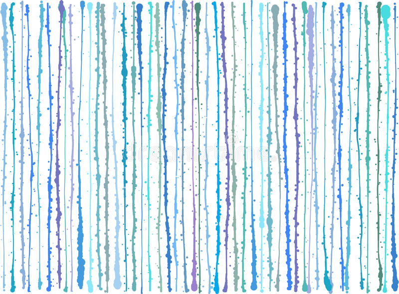 El grunge púrpura azul de la salpicadura alinea el fondo sobre blanco ilustración del vector