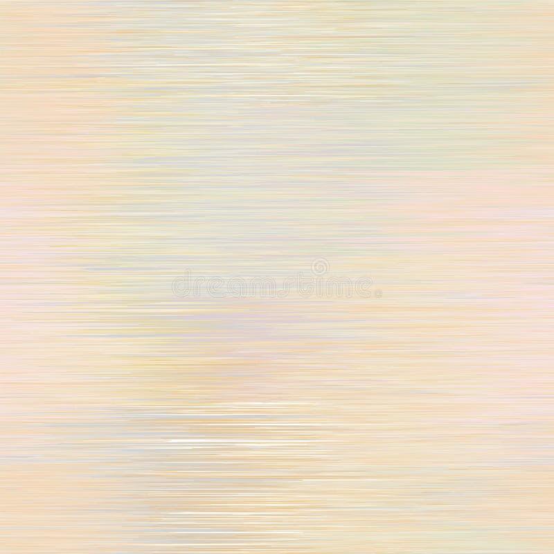 El Grunge rayó el modelo inconsútil ligero horizontal en colores en colores pastel ilustración del vector