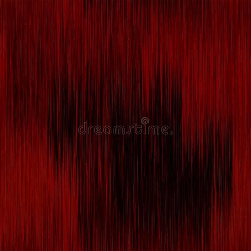 El Grunge rayó el modelo inconsútil vertical en colores negros y rojos libre illustration