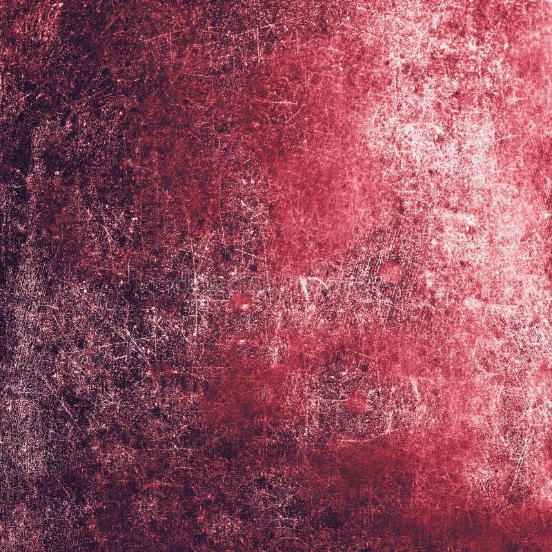 El Grunge texturizó el fondo con los rasguños para su diseño Rojo imagenes de archivo