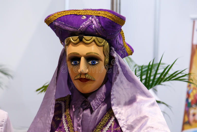 EL Gueguense, νικαραγουανή μάσκα λαογραφίας στοκ φωτογραφίες