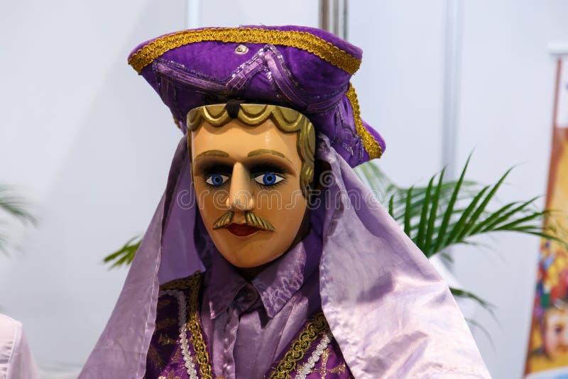 El Gueguense, Nicaraguan folklore mask stock photos