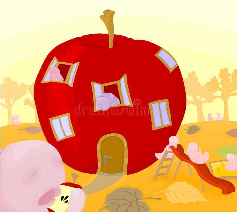 El gusto de Apple stock de ilustración