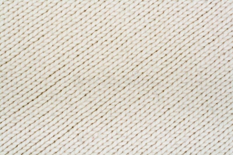 El Hacer Punto Grande De La Textura De La Tela Del Suéter O De La ...