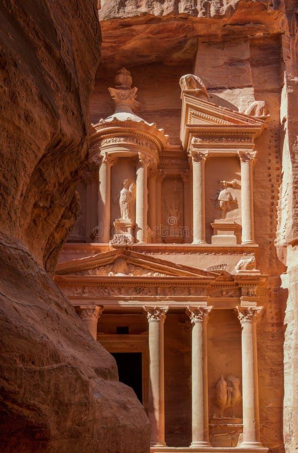 El Hacienda en el Petra foto de archivo libre de regalías
