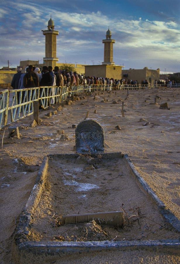 EL Haouas, Argelia, África de Bordj imagen de archivo