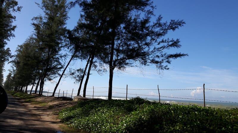 El ` hermoso s Bazzar de $cox del lugar de la necesidad considera la playa: imagen de archivo libre de regalías