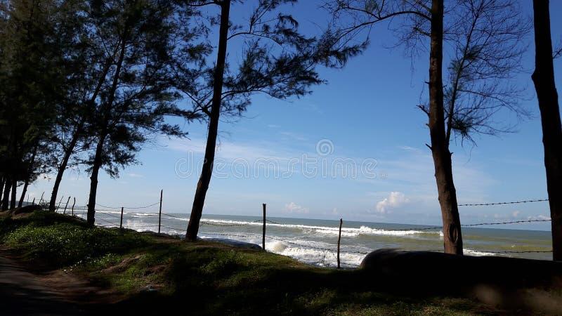 El ` hermoso s Bazzar de $cox del lugar de la necesidad considera la playa: fotos de archivo libres de regalías