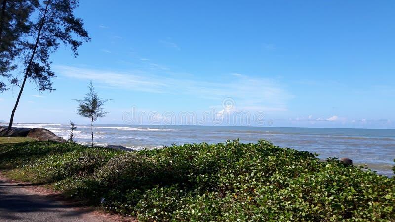 El ` hermoso s Bazzar de $cox del lugar de la necesidad considera la playa: fotografía de archivo