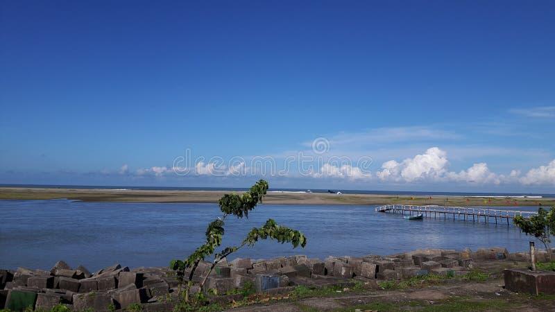 El ` hermoso s Bazzar de $cox del lugar de la necesidad considera la playa: fotografía de archivo libre de regalías