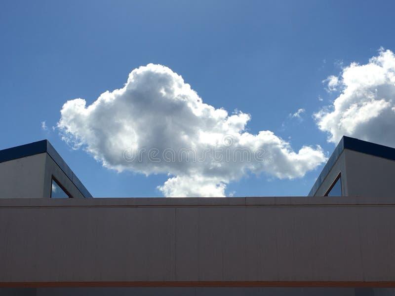 El hermosos, algodonoso, los humilis del cúmulo se nublan, 2 foto de archivo libre de regalías
