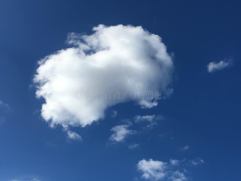 El hermosos, algodonoso, los humilis del cúmulo se nublan, 1 fotos de archivo libres de regalías