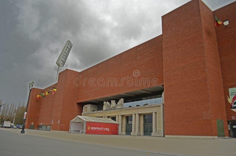 El Heysel/rey Baudouin Stadium, Bruselas foto de archivo