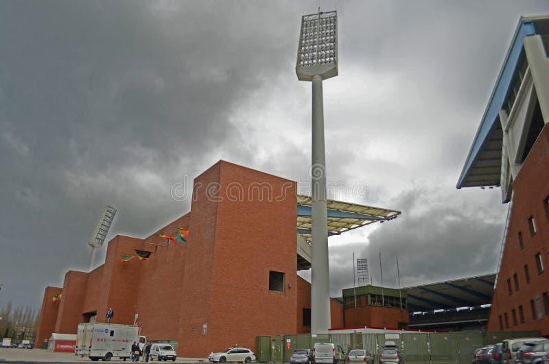 El Heysel/rey Baudouin Stadium, Bruselas fotografía de archivo