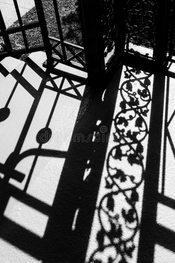 El hierro labrado sombrea 002 fotos de archivo