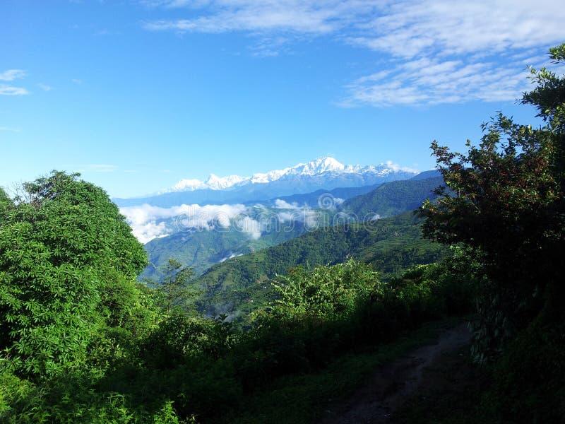 El Himalaya fotografía de archivo libre de regalías