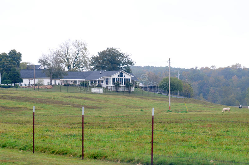 El hogar de Loretta Lynn imágenes de archivo libres de regalías